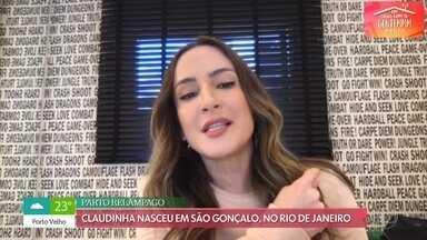 Claudia Leitte relembra infância e fala dos três filhos - Criada na Bahia, cantora conta que nasceu por acaso em São Gonçalo, no Rio de Janeiro