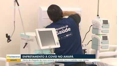 Governo do Amapá deve endurecer medidas de restrição para combater a Covid-19 - Assunto é discutido entre autoridades de Saúde.