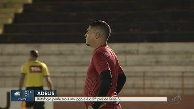 Botafogo-SP perde último jogo do Brasileirão - Time já estava rebaixado e termina competição como segundo pior.