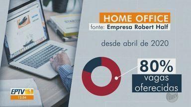 Home office deve continuar crescendo pelos próximos seis meses - Modalidade de trabalho foi adotada durante pandemia.