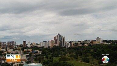 Defesa Civil faz alerta sobre previsão de chuva forte no Oeste Paulista - Veja como ficam as temperaturas em algumas cidades.