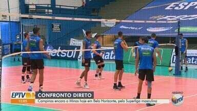 Vôlei Campinas encara o Minas pela Superliga masculina - Jogo acontece neste sábado (30) em Belo Horizonte.