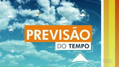Chuva continua nos próximos dias no oeste e no sudoeste - A máxima neste sábado será de 29 graus em Foz do Iguaçu.