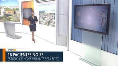 Confira a íntegra do JRO1 deste sábado, 30 de Janeiro - Telejornal é apresentado por Yonara Werri.