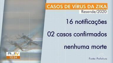 Resende e Volta Redonda retomam fiscalização no combate ao Aedes Aegypti - Agentes de saúde orientam os moradores sobre as práticas corretas para evitar focos do mosquito.