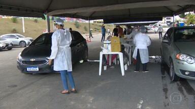 Manaus adianta cronograma de vacinação - Imunização de pessoas de 75 a 79 anos só começaria na quinta-feira, mas foi antecipada.