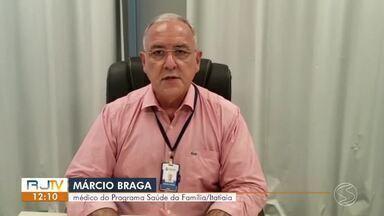 Itatiaia inicia imunização de idosos com mais de 80 anos nesta quarta-feira - Prefeitura estima que cerca de 536 pessoas sejam imunizadas. Vacinação vai acontecer na Policlínica do Centro, das 9h às 16h30, até o dia 13 de fevereiro.