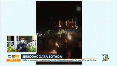Jeri registra aglomeração e festas nesse fim de semana - Saiba mais em: g1.com.br/ce
