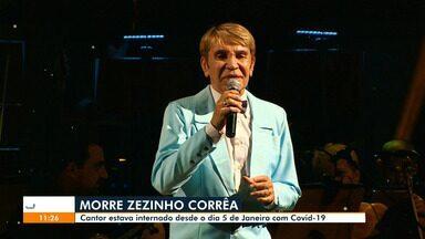 Zezinho Corrêa morre em Manaus; reveja vídeos da carreira - Relembre a trajetória do cantor