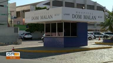 Casal de Petrolina perde bebê e denuncia hospital - O pai acusa o Hospital Dom Malan de desrespeitar a recomendação de cesariana feita pela obstetra da paciente
