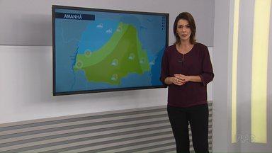 Confira a previsão do tempo para Maringá - Tempo segue firma na cidade nos próximos dias.