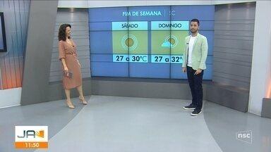 Confira a previsão do tempo para o final de semana em SC - Confira a previsão do tempo para o final de semana em SC