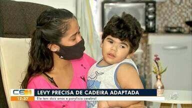 Levy, apenas 2 anos e uma história de luta pela vida - Saiba mais em: g1.com.br/ce