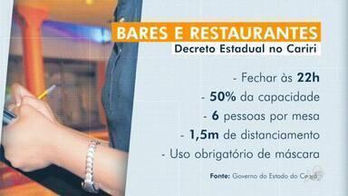 Vigilância Sanitária fiscaliza bares e restaurantes de Juazeiro do Norte - Saiba mais em: g1.com.br/ce
