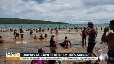 Carnaval de Três Marias é cancelado - Decisão busca evitar a transmissão do coronavírus.