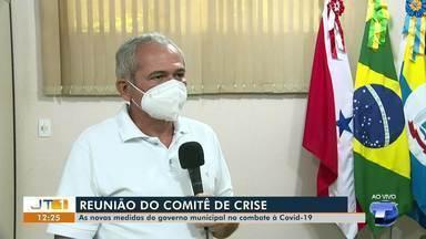 Comitê de Crise da Covid-19 aprova prorrogação de lockdown em Santarém - Algumas das 65 atividades essenciais contempladas no decreto devem passar a funcionar só com delivery.
