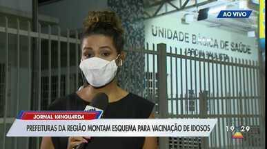 São José dos Campos monta esquema para vacinação de idoso contra Covid-19 - Vacinação começa nesta segunda-feira (8).