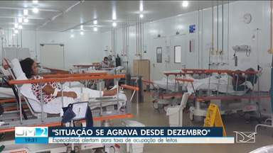 Taxa de ocupação de leitos de UTI para a Covid-19 chega a quase 90% em São Luís - Segundo especialistas, crise é um reflexo das atitudes da população.
