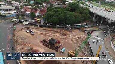 Principais obras contra enchentes em Belo Horizonte não têm previsão de conclusão - A Avenida Tereza Cristina é um dos pontos mais críticos. O Ribeirão Arrudas transborda muitas vezes na região Oeste da capital.