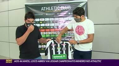 Aos 44 anos, Loco Abreu vai jogar Campeonato Mineiro no Athletic - Aos 44 anos, Loco Abreu vai jogar Campeonato Mineiro no Athletic