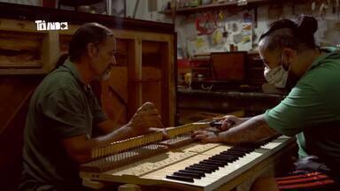 Família de Pianistas - Mário conhece uma família unida pelo piano.