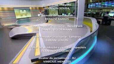 Jornal Hoje - Edição de 12/02/2021 - Os destaques do dia no Brasil e no mundo, com apresentação de Maria Júlia Coutinho.