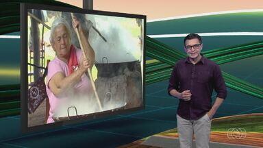 Confira os destaques do Jornal do Campo deste domingo (14) - A colheita da soja em Goiás é um dos principais assuntos.