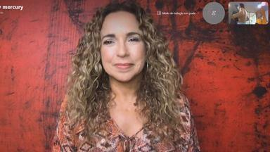 Daniela Mercury releva estar ansiosa para o carnaval de 2022 - A rainha do carnaval de São Paulo contou que o carnaval vai durar um mês no ano que vem.
