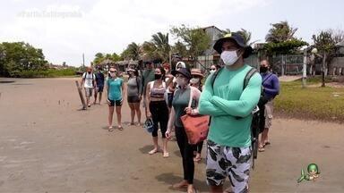 De volta à Sabiaguaba, agora para fazer trilha - Tep Rodrigues acompanha grupo de trilheiros em aventura