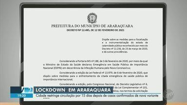 Jornal Da Eptv 2ª Edicao Campinas Piracicaba Araraquara Decreta Lockdown Apos Confirmar Casos De Nova Variante De Covid 19 Globoplay