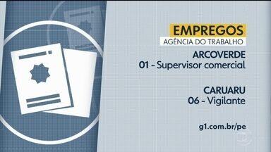 Confira vagas de emprego disponíveis nesta terça-feira - Há oportunidades em cidades da Região Metropolitana e também no interior do estado.