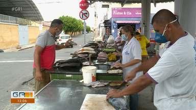 Com início da quaresma, católicos iniciam compras de pescados em Petrolina - Os católicos seguem a tradição de não comer carne vermelha em alguns dias da semana.