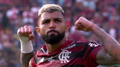 Gabigol está liberado para enfrentar o Internacional para a possível decisão do Brasileirão - Gabigol está liberado para enfrentar o Internacional para a possível decisão do Brasileirão