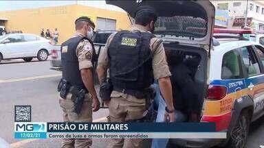 Seis pessoas são presas e carros de luxo e armas são apreendidos em Araxá - Dentre as pessoas detidas no Alto Paranaíba, estavam dois policiais militares.