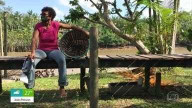 Edna dos Anjos vive da produção de Açaí em uma ilha de Belém - Confira o 'Belezas da Terra'