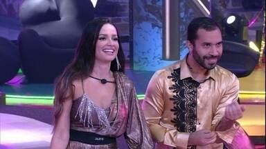Juliette elogia Daniela Mercury em Festa Olho no Olho do BBB21 - A sister diz: 'Que mulher, estou errepiada'