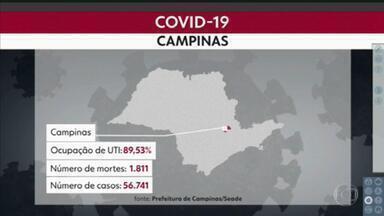 Covid-19 avança pelo interior e provoca onda de fechamentos - Campinas anunciou restrições de fase vermelha. Sorocaba e Araraquara estão com os leitos de UTI cheios.