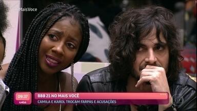 Camila e Karol trocam farpas e acusações antes da festa do BBB21 - Ivo Madoglio vai às ruas saber como o pessoal se comporta nas discussões: responde ou engole sapo?