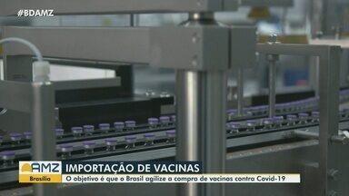 Presidente do Senado busca diálogo para agilizar compras de vacinas - As duas vacinas ainda não tem autorização de uso pela Anvisa.
