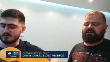 Música finalista: Chove, Chove Joinville, de Danny Charão e Caio Medeiros - Música finalista: Chove, Chove Joinville, de Danny Charão e Caio Medeiros