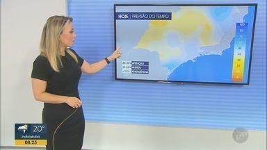 Veja a previsão do tempo para as regiões de Campinas, Ribeirão e Central do estado - Frente fria se aproxima do Estado de São Paulo e promete temperaturas mais amenas para as regiões.
