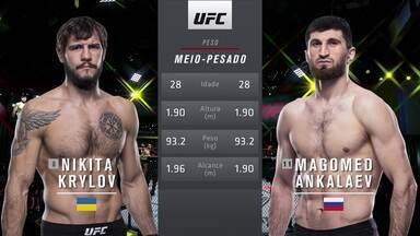 UFC Rozenstruik x Gané - Nikita Krylov x Magomed Ankalaev - UFC Rozenstruik x Gané - Nikita Krylov x Magomed Ankalaev