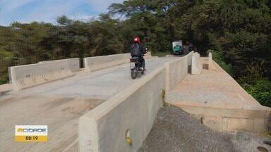 Obras na ponte da BR-460 causam problemas para os motoristas - Obras na ponte da BR-460 causam problemas para os motoristas