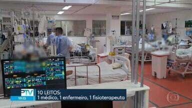 SP2 - Edição de segunda-feira, 08/03/2021 - Nove pacientes morrem à espera de leitos de UTI em Taboão da Serra. Veja como foi o primeiro dia útil da fase vermelha em São Paulo. Guarulhos sofre com fortes chuvas.