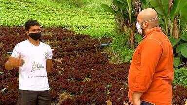 Produtores rurais no interior do Rio ainda sofrem com problemas de comunicação - O repórter Ádison Ramos deu uma circulada pela Serra para ver como está o acesso à rede móvel.