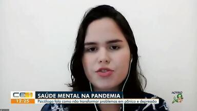 Dicas de uma psicóloga para enfrentar COVID-19 - Saiba mais em g1.com.br/ce