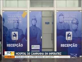 Inaugurado o novo Hospital de Campanha de Imperatriz - Unidade exclusiva para tratar pacientes com Covid-19.