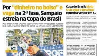 Veja os destaques do jornal O Estado do Maranhão - Acompanhe as principais notícias da publicação na manhã desta quarta-feira (10) no estado.