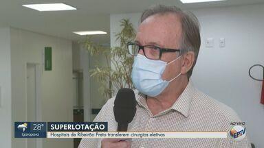 Unimed suspende agendamento de cirurgias eletivas em Ribeirão Preto - Santa Casa faz reunião para definir situação do hospital e HC reduziu pela metade o número de cirurgias.