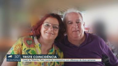 Casal de Ribeirão Preto morre vítima do coronavírus com diferença de duas semanas - O marido, de 67 anos, não ficou sabendo que a esposa, de 66 anos, havia sido internada.
